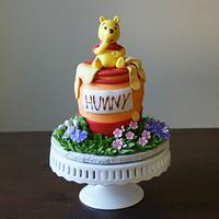 Pooh and his Hunny by milissweets