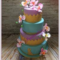 Aladin color weddingcake