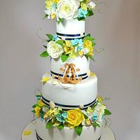 Wedding cake marine
