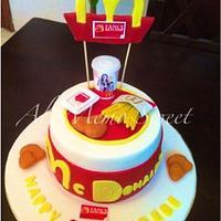 Macdonalds cake
