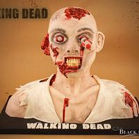 The Walking Dead Zombie Cake