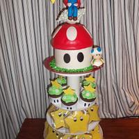 """Mario cake"" by Ana"