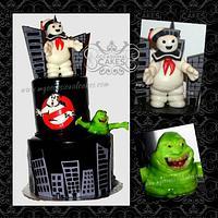 Ghostbuster's(TM) Cake