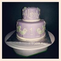 birdie cake by Norma Angelica Garcia