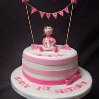 Rebecca's first birthday