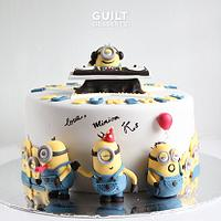 Minions Birthday Party! by Guilt Desserts