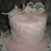 Lace cake