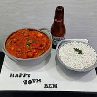 Curry and a beer!!