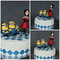 Minions and Scarlet