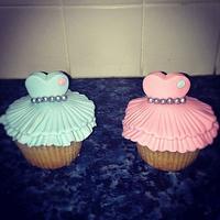 Pretty Dress Cupcakes