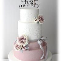 Ilaria's First Communion cake