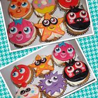 Moshi Monster Cupcakes