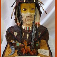 Native american cake - 1ere place ShowCake Lyon
