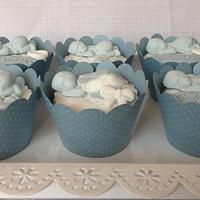 Baby Shower Baby Boy Cupcakes