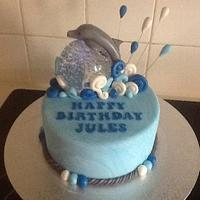 Jules Dolphin cake