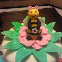 Lady bee by Wanda