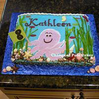Kathleen's 8th Birthday Cake
