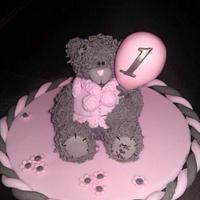 Me to you style tatty teddy topper