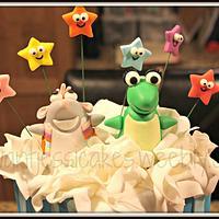 Dora the Explorer Birthday cake by Jessica Chase Avila