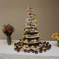 Tiered Cupcake Display