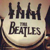 Abbey road cake