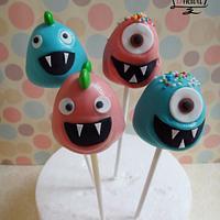 Monster Cakepops