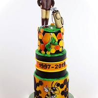 Army retirement cake