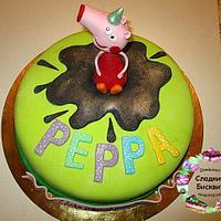 Торт Свинка Пеппа.
