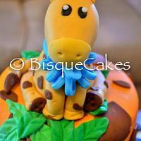 Jungle Safari Cake by Radhika Bhasin