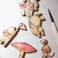 Watercolor cookies ❤️