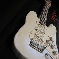 Cake Fender Stratocaster