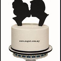 Silhouette Cake by weennee