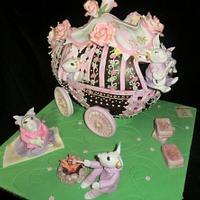 CHOCOLATE EASTER TRAVELS WITH GYPSY WAGON CARAVAN !!