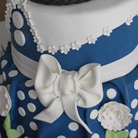 Birthday Dress Cake!   by Sandra Caputo