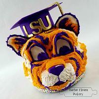 Mike the LSU Graduate Tiger