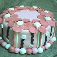 Britts flower cake
