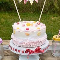 Lemonaid Smash Cake