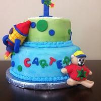Carter's Birthday Cake!