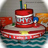 Dr Suess Inspired Cake