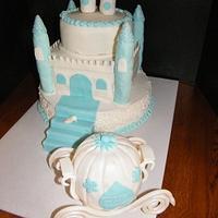 Cinderella themed 16th birthday by Judy Remaly