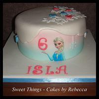 simple frozen cake