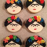 Frida Kahlo cookies