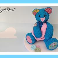 Vintage Baby Teddy Bear