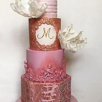 Signature tier cakes