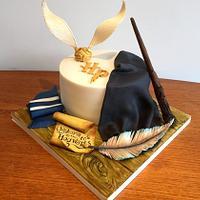 Harry Potter Wizarding World Cake