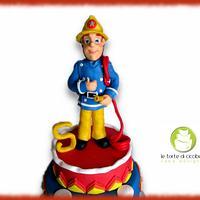 Cake Sam Fireman