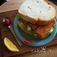Fish Finger Sandwich Cake