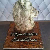 3d wolf cake