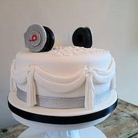 Diamante Dr Dre Beats Headphone cake