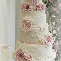 4 tier birdcage cake
